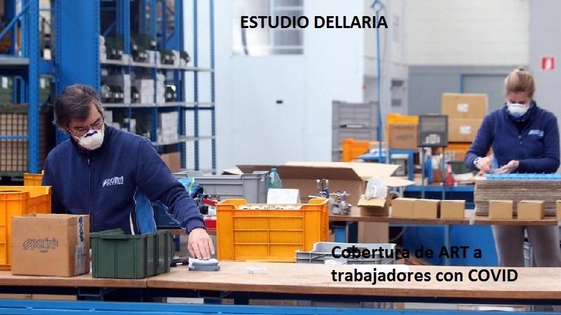 CORONAVIRUS.  COBERTURA EN EL RÉGIMEN DE RIESGOS DEL TRABAJO